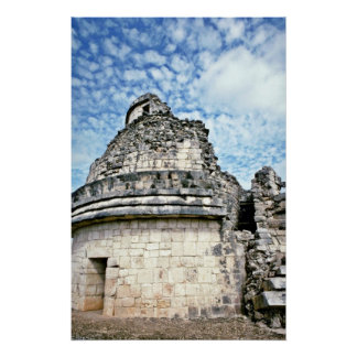 El Caracol, The Observatory, Chichen Itza Poster