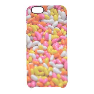 El caramelo asperja el foodie de moda de neón del funda clearly™ deflector para iPhone 6 de uncommon