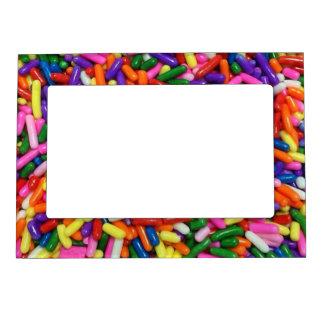 El caramelo asperja marcos magneticos para fotos