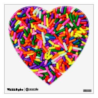 El caramelo asperja vinilo adhesivo