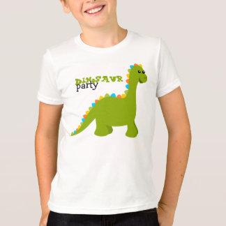 El caramelo colorea a Dino Playera