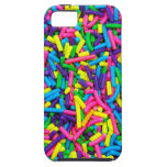 El caramelo colorido asperja la impresión iPhone 5 Case-Mate protectores