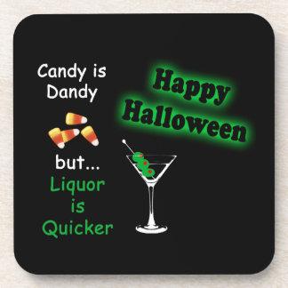 El caramelo de Halloween es excelente - las Posavasos De Bebidas
