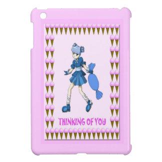 El caramelo de Topsy con helado iPad Mini Cárcasa
