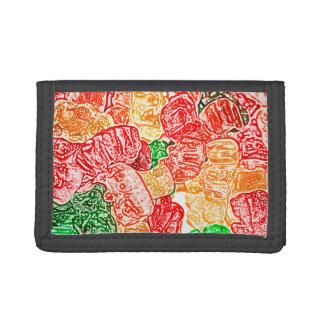 el caramelo lleva el bocado abstracto del dulce de