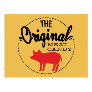 El caramelo original de la carne postales