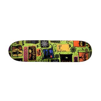 El caramelo soña el monopatín del ~ tablas de skate