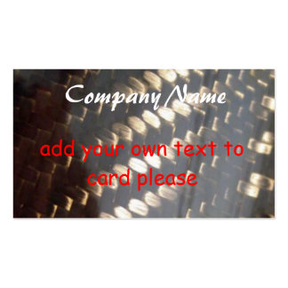 el carbon_fiber_weave nombre de compañía añade s tarjeta personal