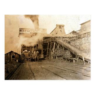 El carbón tipple en la mina de Gastón Tarjetas Postales
