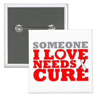 El carcinoma de células escamosas necesita una pin cuadrado