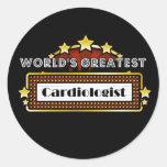 El cardiólogo más grande del mundo etiqueta redonda