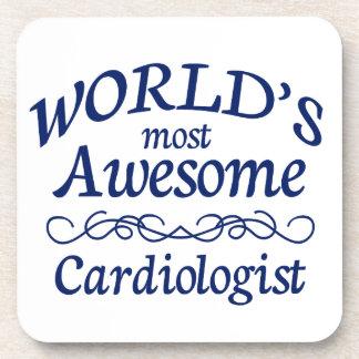 El cardiólogo más impresionante del mundo posavasos de bebida