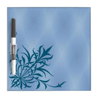"""El """"cardo azul"""" seca al tablero del borrado pizarra blanca"""