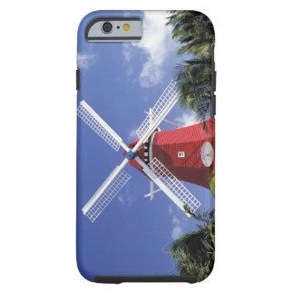 El Caribe, Aruba. Molino viejo, convertido en Funda De iPhone 6 Tough