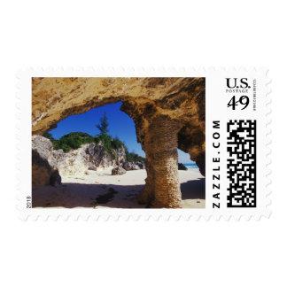 El Caribe, Bermudas, la ciudad de Tucker. Natural Sello