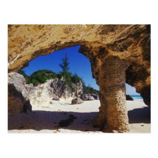 El Caribe, Bermudas, la ciudad de Tucker. Natural Tarjeta Postal
