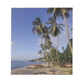 El CARIBE, Grenada, San Jorge, barcos en la palma Libretas Para Notas