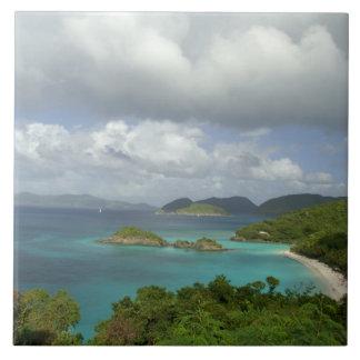 El Caribe, Islas Vírgenes de los E.E.U.U., St. Joh Azulejo Cuadrado Grande