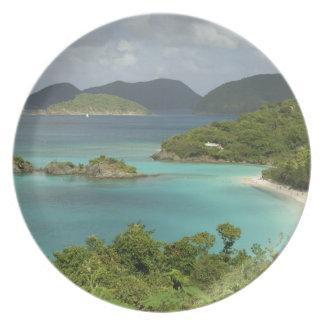 El Caribe, Islas Vírgenes de los E.E.U.U., St. Joh Platos Para Fiestas