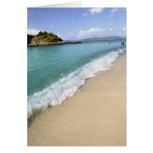 El Caribe, Islas Vírgenes de los E.E.U.U., St. Joh Tarjeta De Felicitación
