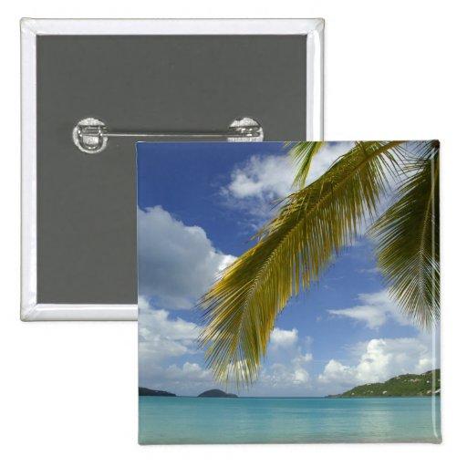 El Caribe, Islas Vírgenes de los E.E.U.U., St Thom Pin Cuadrada 5 Cm