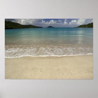 El Caribe, Islas Vírgenes de los E.E.U.U., St Thom Póster