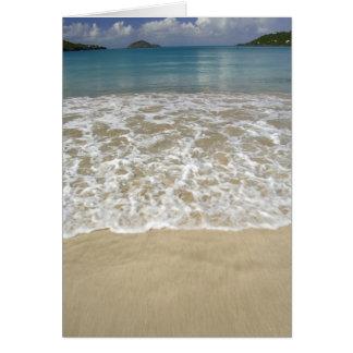 El Caribe, Islas Vírgenes de los E.E.U.U., St Thom Tarjeta De Felicitación
