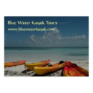 El Caribe Kayaks tarjeta de visita