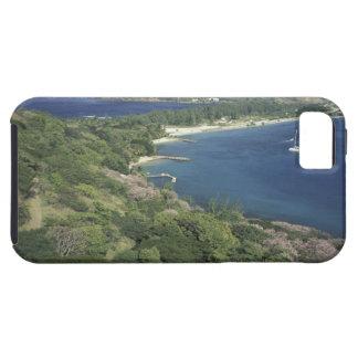 El Caribe, las Antillas, St Lucia. Vista a iPhone 5 Funda