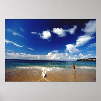 El Caribe, pocas Antillas, las Antillas, 2 Posters