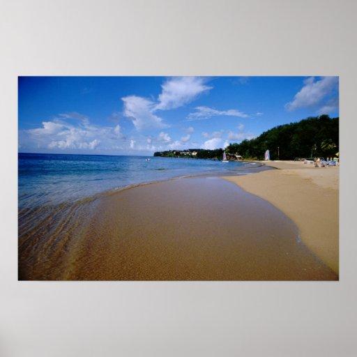 El Caribe, pocas Antillas, las Antillas, 3 Póster