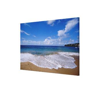 El Caribe, pocas Antillas, las Antillas, 4 Impresión De Lienzo