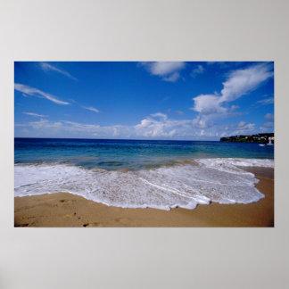 El Caribe, pocas Antillas, las Antillas, 4 Posters