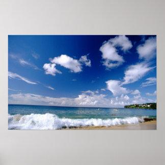El Caribe, pocas Antillas, las Antillas, 5 Posters