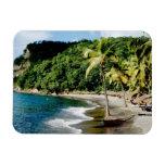 El Caribe, pocas Antillas, las Antillas, santo Imanes Rectangulares