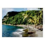 El Caribe, pocas Antillas, las Antillas, santo Tarjetas