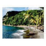 El Caribe, pocas Antillas, las Antillas, santo Tarjeta Postal