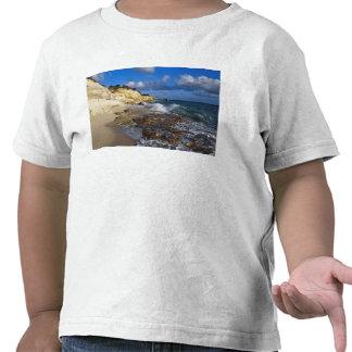 El Caribe, San Martín, acantilados en Cupecoy vara Camiseta