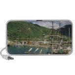 El Caribe, St Lucia, Soufriere. Barcos adentro Altavoz De Viajar