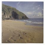 El Caribe, St. San Cristobal. Huellas en Atlántico Teja Ceramica