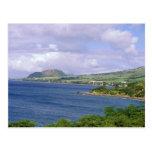 El Caribe, St. San Cristobal, Roseau. Costa Tarjetas Postales