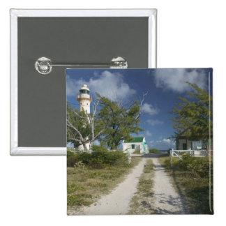 El Caribe, TURCOS y CAICOS, isla magnífica del tur Pin Cuadrado