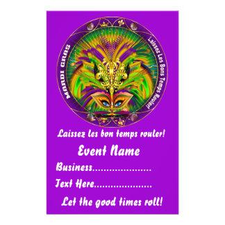 """El carnaval 5,5"""" x 8,5"""" ve por favor notas tarjetas informativas"""