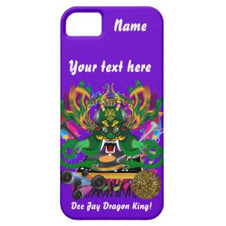 El carnaval D.J. Dragon rey visión hace alusión iPhone 5 Carcasas
