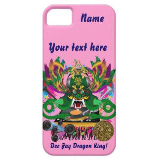 El carnaval D.J. Dragon rey visión hace alusión iPhone 5 Funda