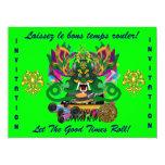 El carnaval D.J. Dragon rey visión hace alusión Invitaciones Personales