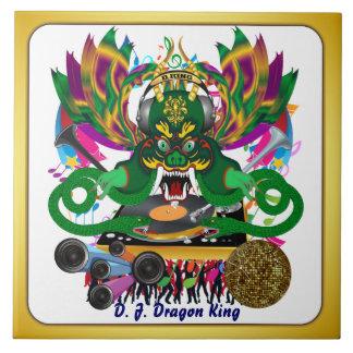 El carnaval D.J. Dragon rey visión hace alusión po Tejas Cerámicas