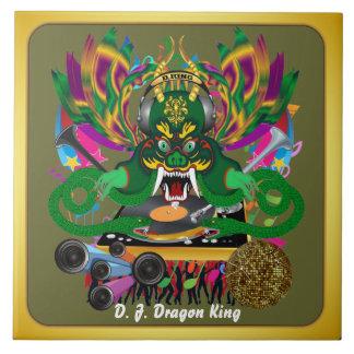 El carnaval D.J. Dragon rey visión hace alusión po Tejas