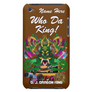 El carnaval D.J. Dragon rey visión hace alusión po iPod Touch Cobertura
