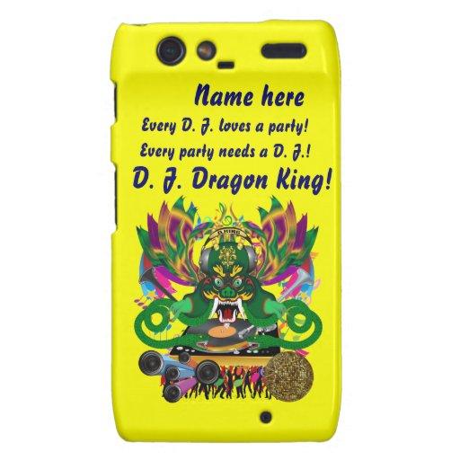 El carnaval D.J. Dragon rey visión hace alusión po Droid RAZR Carcasa